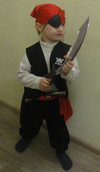 """Карнавальный костюм """"Маленький пират"""""""