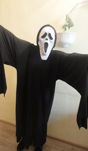 Карнавальный костюм Крик