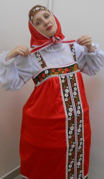 Карнавальный костюм «Матрешка»