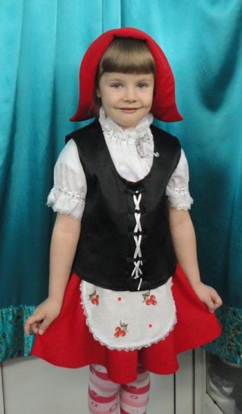 Костюм Красная шапочка