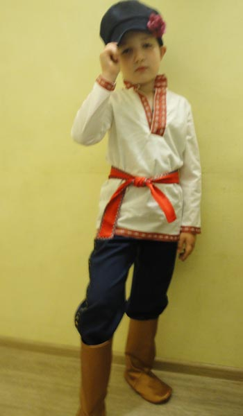 Вышивка для русского народного костюма