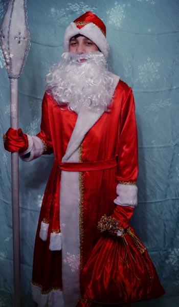 Детский костюм Деда Мороза