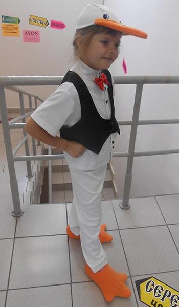 Детский костюм гуся