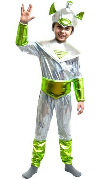 костюм инопланетянина для мальчика