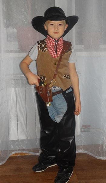 костюм ковбоя детский