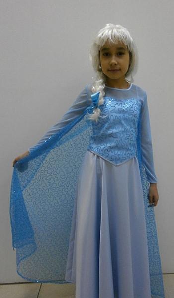Принцесса Эльза костюм