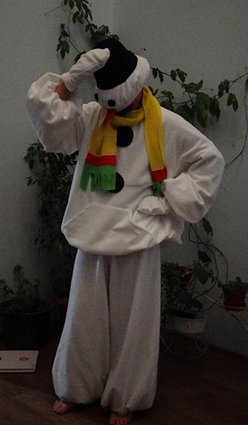костюм снеговика Красноярск